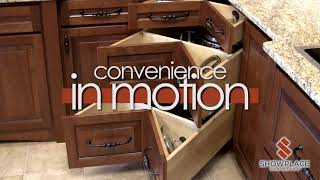 Convenience in motion: Showplace accessories in action.