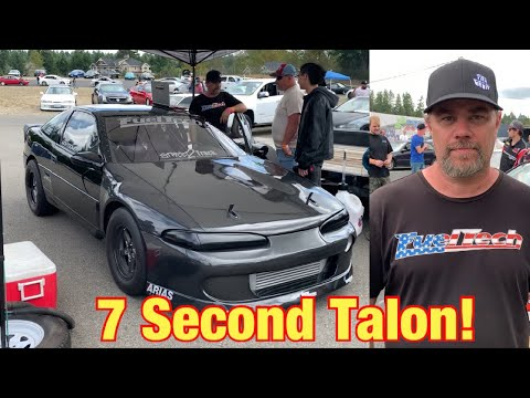 Insane 7 Second Eagle Talon On 70 Lbs Of Boost!  IFO Racer Feature, Jake Montgomery! Fueltech Review