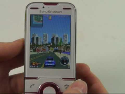 Sony-Ericsson Yari Test Spiele