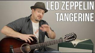 Zapętlaj Led Zeppelin - Tangerine - How to Play on Guitar - Acoustic - 12 String | Marty Music