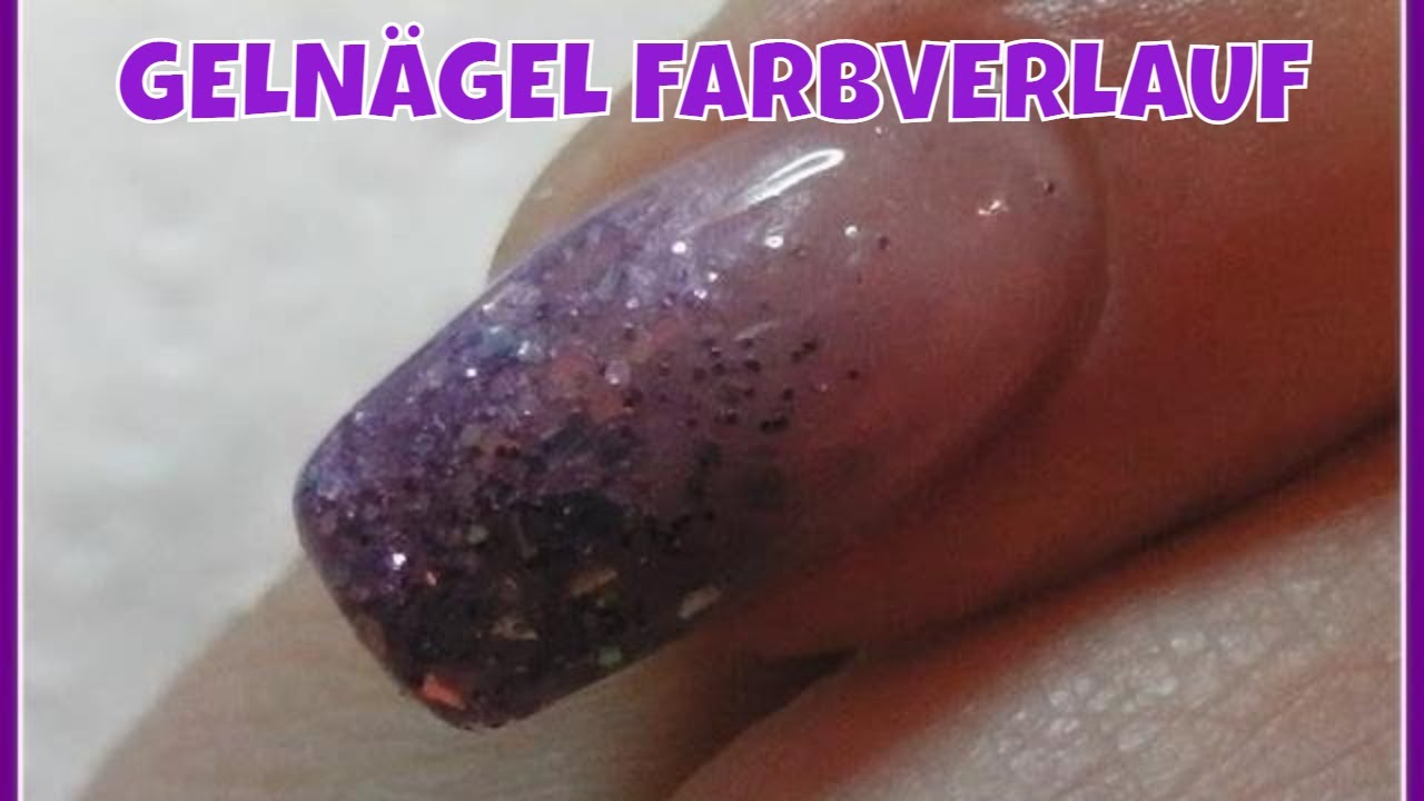 geln gel farbverlauf mit illusionglitter lyninails youtube. Black Bedroom Furniture Sets. Home Design Ideas