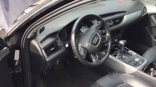 Audi A6 C7 замена блока ABS(На другом сервисе пытались поставить блок ABS от audi a8 d4 начали прописывать и завалили рейку рулевую, климат..., 2016-12-19T15:13:13.000Z)