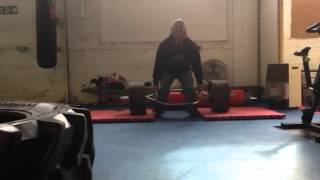 312kg trap bar deadlift at the usc training facility