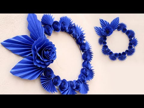 Paper Craft Ideas Wall Decoration Door Simple Home Decor