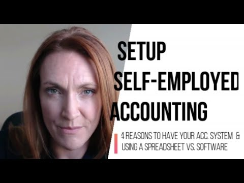 Setting Up Your Self-Employed Accounting & When to Use a Spreadsheet vs. Software vs. Apps
