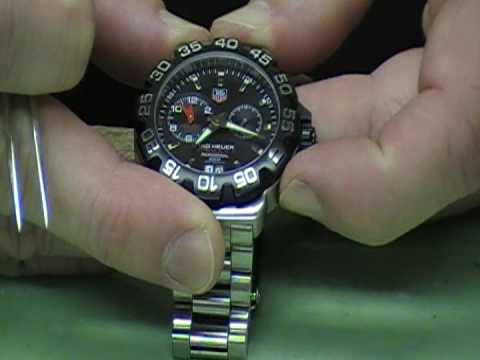ea8d6129c60 Tag Heuer Formula 1 - UrbaneWatchReview.com - YouTube