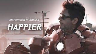 ⇢ happier - marshmello ft. bastille | sub.español/inglés