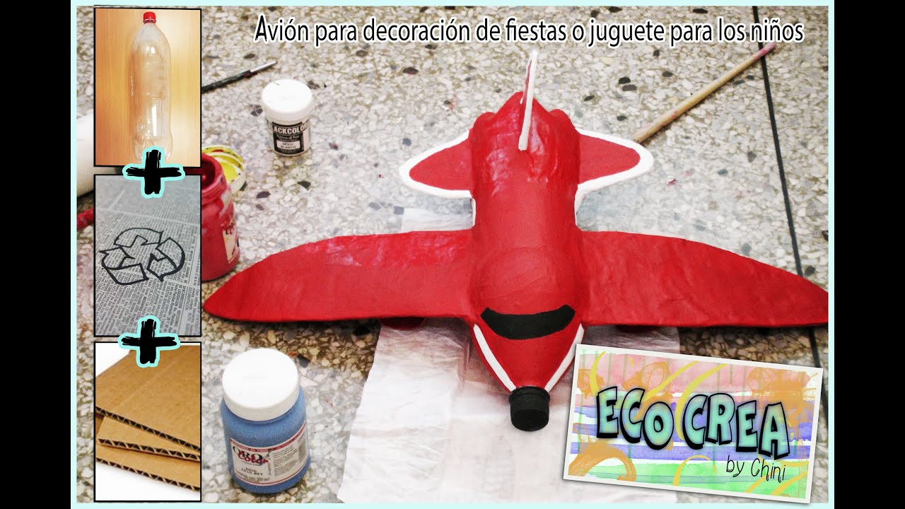 Recicladobotellas Con Material Recicladobotellas Avión Material Con Pet Avión rCxoedB