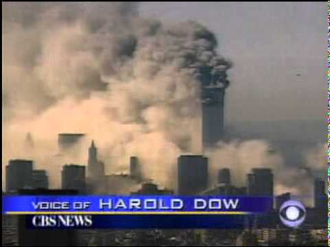 9/11 News Coverage:  9:59 AM: CBS, South Tower Collapses
