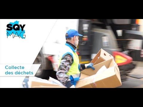 SQY Mag – Collecte des déchets