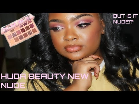 Huda Beauty New Nude Palette| Review + Tutorial thumbnail