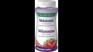Nature's bounty melatonin gummies - help for insomnia