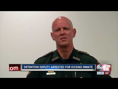 Anjali Queen B - Pinellas Co. Detention Arrested & Fired for Kicking Inmate in Ribs