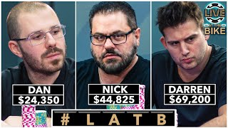 Nick Vertucci CRUSHES Tourney Legends ♠ Live at the Bike!
