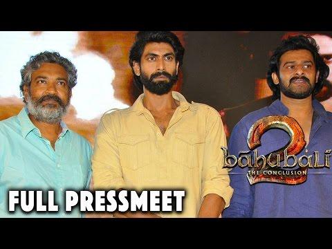 Baahubali - The Conclusion - Official Press Meet || Prabhas, Rajamouli, Anushka, Tamannah