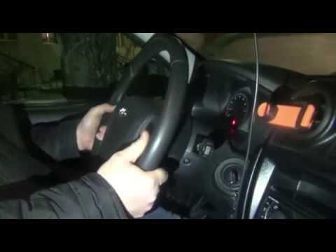 Как поднять руль в приоре