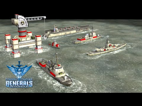 C&C: [ZH] Continue 2.03  Naval Battle - New Official Maps [Naval Master]