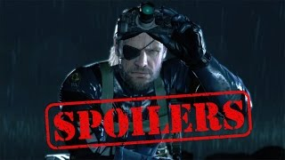 Metal Gear Solid V: The Phantom Pain Truth Tapes Ending