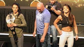 Claudia Gadelha Tells Joanna Jedrzejczyk That Her Boyfriend Isn't Doing His Job  (UFC 200)