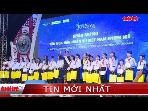 ⚡ Tin mới nhất | Hoa hậu H'Hen Niê trao học bổng cho học sinh nghèo tại quê nhà