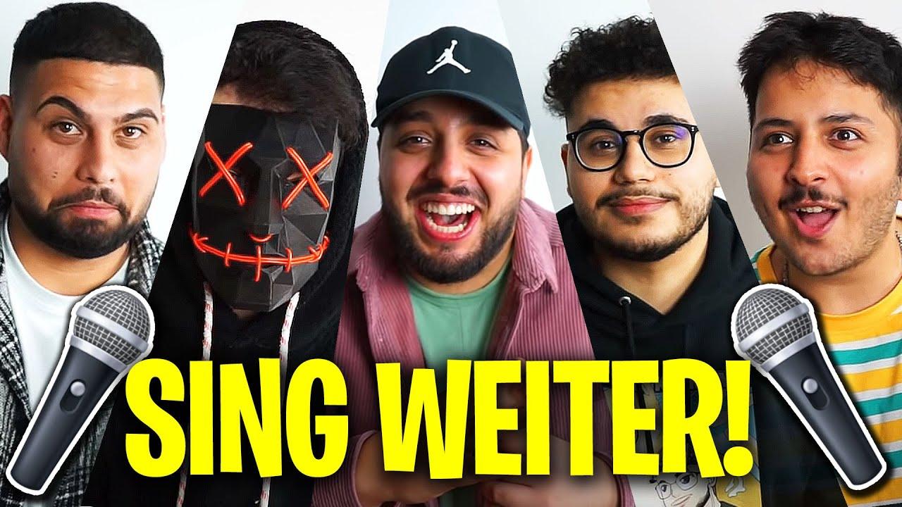SING WEITER sonst HUND! - mit der Crew (KOMPLETT LACHFLASH)