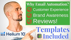 Helium 10 Follow Up Email Automation | Tutorial + Templates
