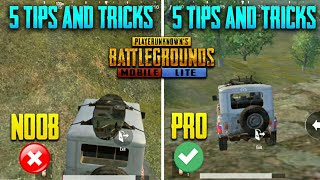 🔥 Noob To Pro Guide #3 | This Will Make You Pro - 5 Best Secret Tips & Tricks || Pubg Mobile Lite