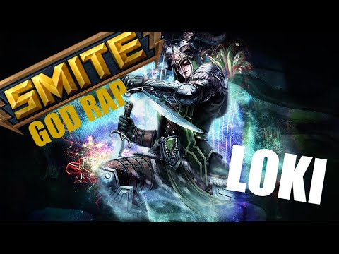 SMITE RAP// Loki - Now can you see me, Now you don't