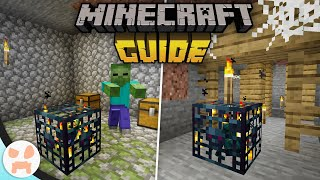 SPAWNERS + MINESHAFTS!   The Minecraft Guide (Tutorial Survival Lets Play - Ep. 11)