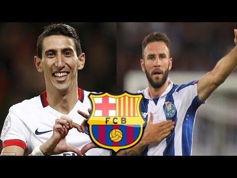 FC BARCELONA FICHAJES Y RUMORES 2017/2018 ✪ BARCELONA SE INTERESA EN LAYUN ✪ EX MADRID EN LA MIRA