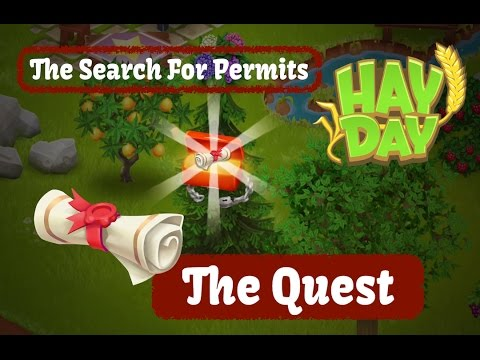 Hay Day Live - April 2017 - The Quest for Permits