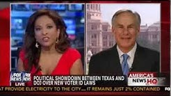 Greg Abbott on Fox News with Uma Pemmaraju