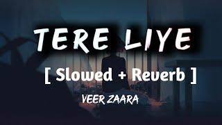 Tere liye [Slowed + Reverb ]    veer Zara    Shadowaudiobook