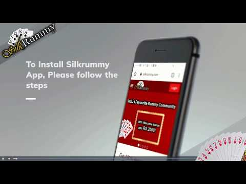 How to Install Silkrummy App in Android Mobile | SilkRummy