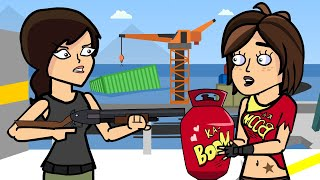 TNTina & The Oil Rig | The Squad (Fortnite Animation)