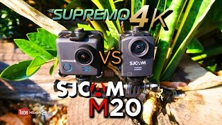 VLOG: Supremo 4k VS SJcam M20 Video, Low Light, Photo & Audio Sample [Ph]