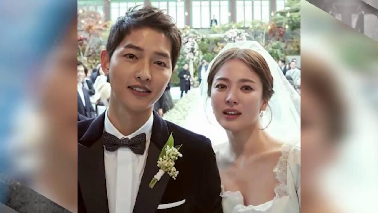 Baper! Ini Foto-foto Pernikahan Song Joong Ki Dan Song Hye