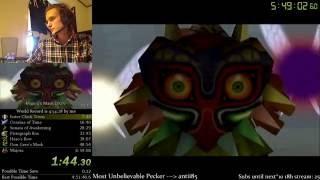 The Legend of Zelda: Majora's Mask 100% Speedrun World Record (4:54:00)