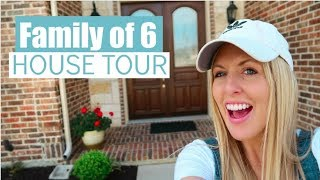 We Are MOVING! Home Tour For a Family of 6