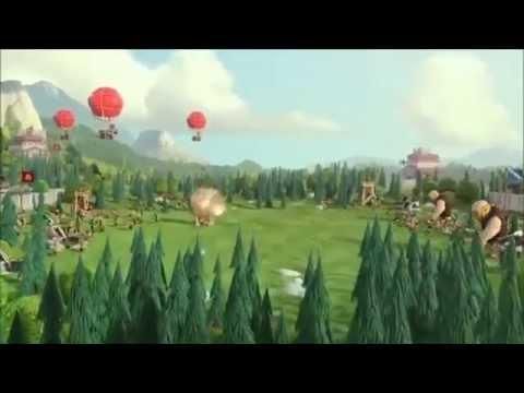 Clash Of Clans Clan Wars Trailer 2014