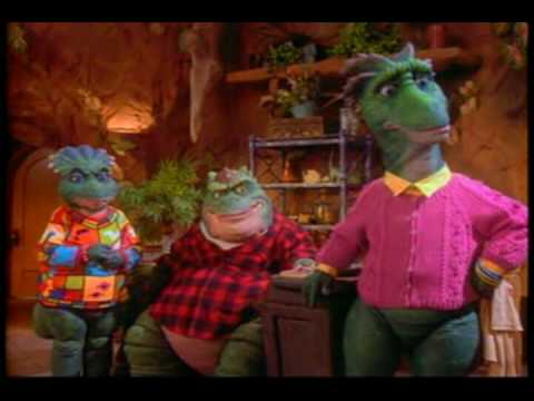 Unnecessary censorship: Dinosaurs TV show