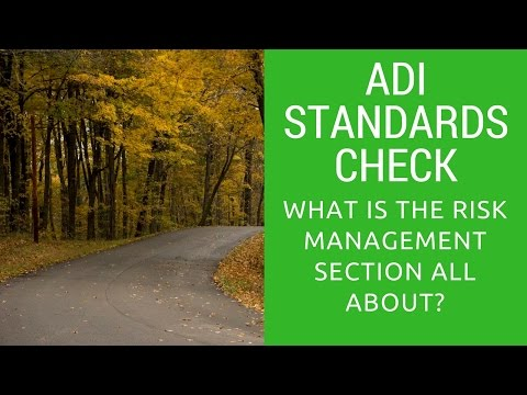What is the Risk Management section all about?