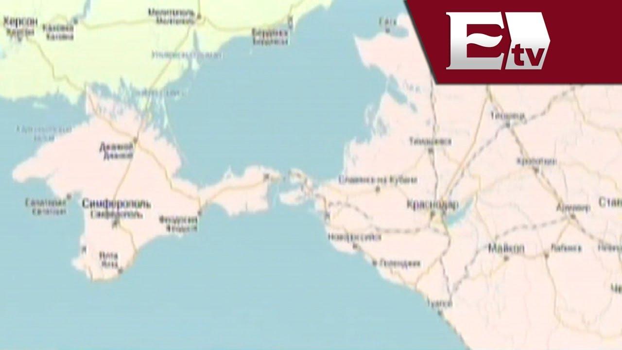 Crimea Ya Aparece En Mapas Como Territorio De Rusia Global Paola Barquet