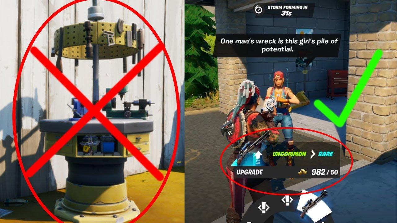 Upgrade Npc Season 6 Fortnite How To Upgrade Weapons All Weapon Upgrade Locations In Fortnite Chapter 2 Season 5 Youtube