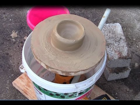 Awesome Homemade DIY Project /Make it easy Pottery Wheel