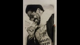 How to draw .. Rohan Marley Drawing