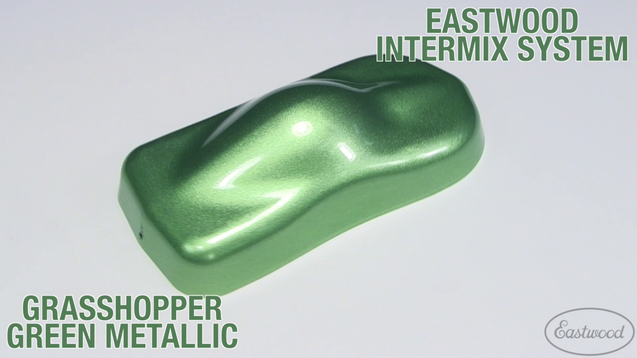 Grhopper Green Metallic Intermix Paint Kit Eastwood