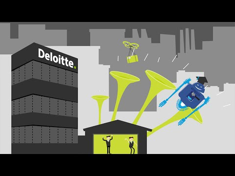 The Deloitte Garage – open now!