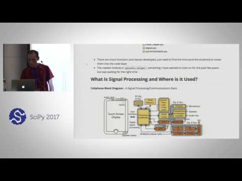 Signal Processing and Communications Hands On Using scikit dsp comm | SciPy 2017 Tutorial | Mark Wic