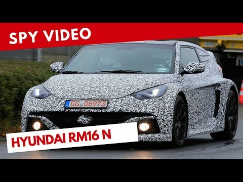 Hyundai RM16 N | Spy video (June 2018)